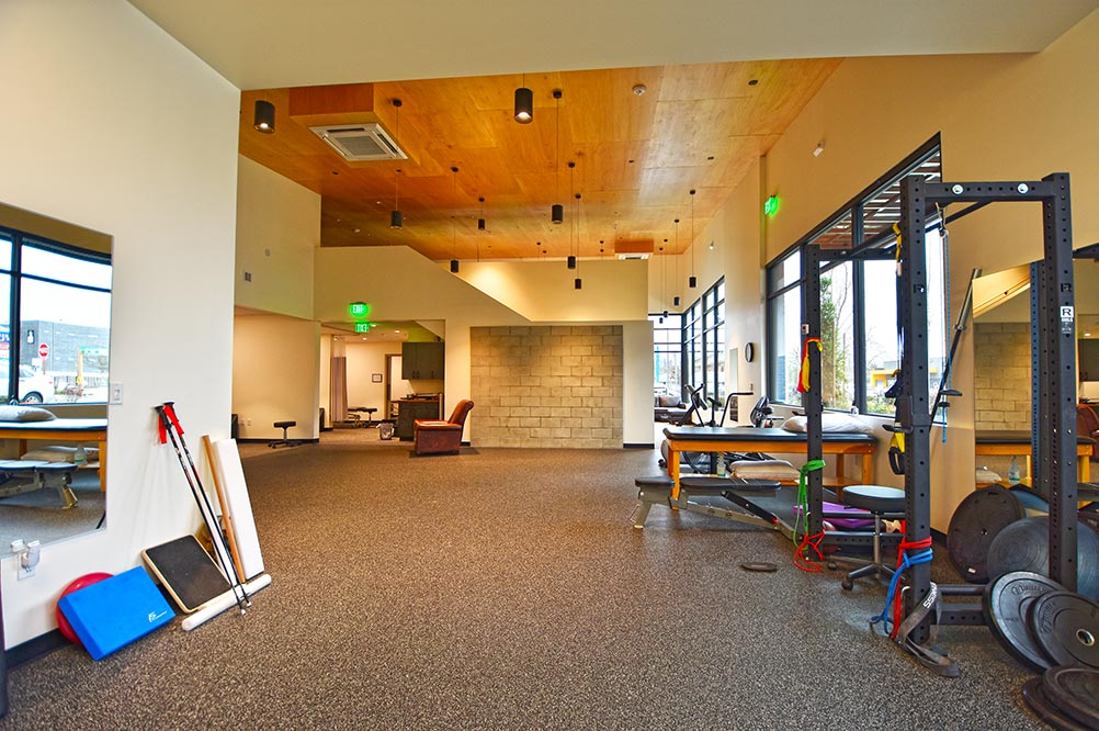 Kenmore physical therapy office after tenant improvement