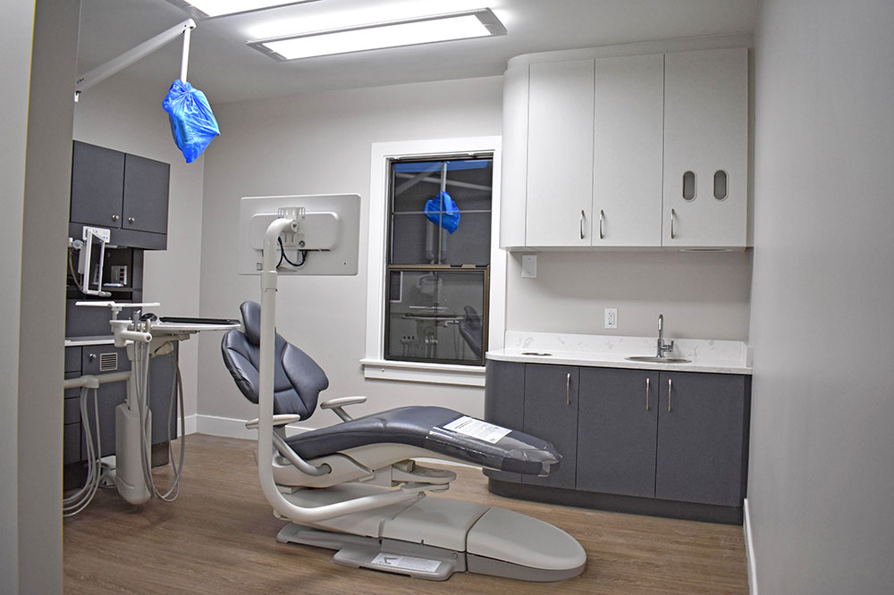 Dentist operatory in Langley after a three week renovation